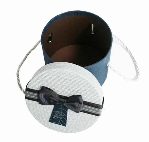 Portable Rond Cylindre petit Mariage Douche Party Candy stockage Boîtes-cadeaux