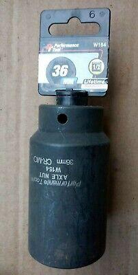 Performance Tool W154 36MM FWD Axle Nut Socket Chr-Moly