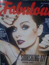 Fabulous magazine KATHERINE JENKINS, JACK SAVORETTI