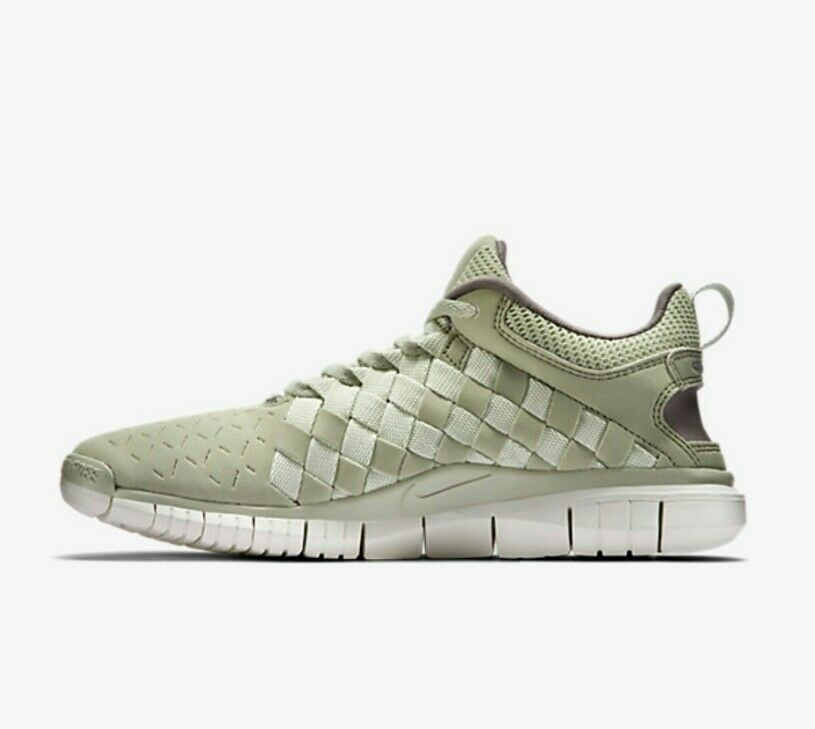 Nike Free OG '14 Woven UK 10.5 EUR 45.5 Light Stone Sea Glass 725070 100 New