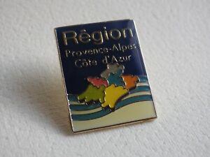 Pin-S-Vintage-Coleccionista-Pins-de-Solapa-Publicidad-Region-Alpes-Lados-Azure