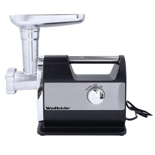 3200W Electric Meat Mincer Grinder Sausage Maker Filler Machine Home Tool Black