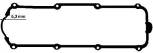Dichtung Zylinderkopfhaube für Zylinderkopf ELRING 915.653