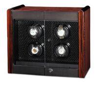 Orbita Avanti 4 Automatic Watch Winder Macassar/carbon Fiber Programmable W70009