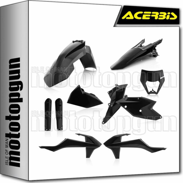 ACERBIS 0022371 KIT CACHE CARENAGE NOIR KTM EXC 250 TPI 2018 18