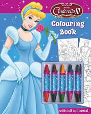 Disney Cinderella 3 A Twist In Time Colouring Book With Crayons