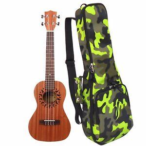 23 Concert Camouflage Ukulele Gig Bag Musical Instrument Backpack Ukulele Case Ebay
