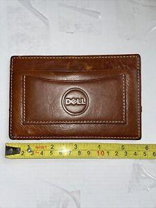 Barrington Slim Leather Wallet Dell Used Nice
