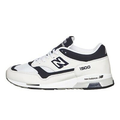 New Balance 1500 - Made in England - White / Navy - Leather / Mesh - 6.5 D   eBay