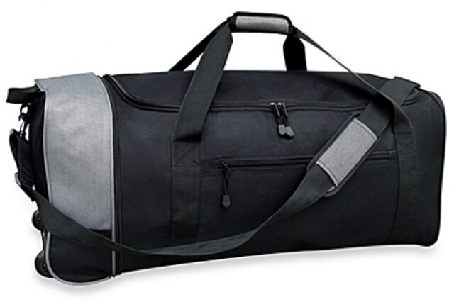 Traveler S Club 32 Inch Compactable Rolling Duffle Travel Bag Wheeled Duffel New