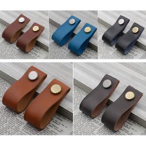 Leather-Handmade-Cabinet-Door-Knobs-Drawer-Pulls-Door-Handles-Cupboard-Kitchen-F