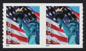 #3970 Bandera Y Libertad, Bobina Par, Nuevo Cualquier 5=