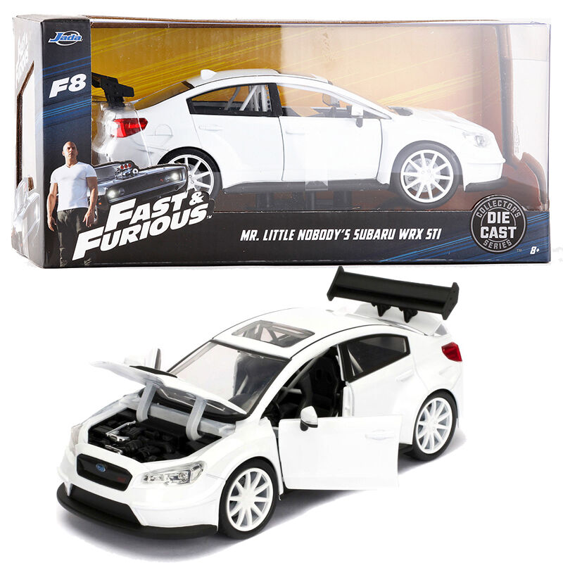 1 24 JADA FAST AND FURIOUS 8 MR. LITTLE NOBODY'S SUBARU WRX STI VEHICLE CAR TOY