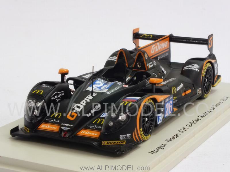 Morgan Nissan G-Drive Racing Le Mans 2014 Rusinoiv - Pla -C 1 43 SPARK S4211