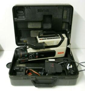 Rca Cc310 Pro Edit Camcorder W Case Vhs Hq Ss Image Sensor Parts Repair Only Ebay