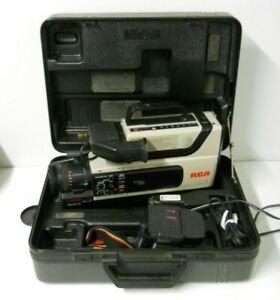 Rca Cc310 Pro Edit Camcorder W Case Vhs Hq Ss Image Sensor Parts Repair Only Ebay