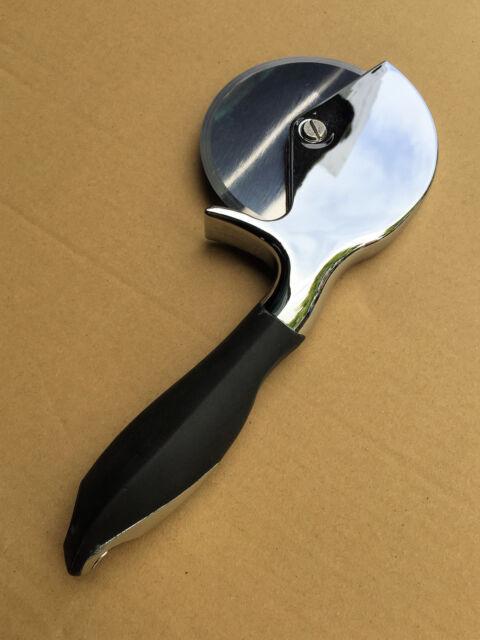 Pizza Cutter/Wheel 100mm - Stainless Steel Knife/Blade Heavy Duty