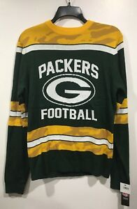 Green Bay Packers Nfl Glow In The Dark Ugly Christmas Sweater