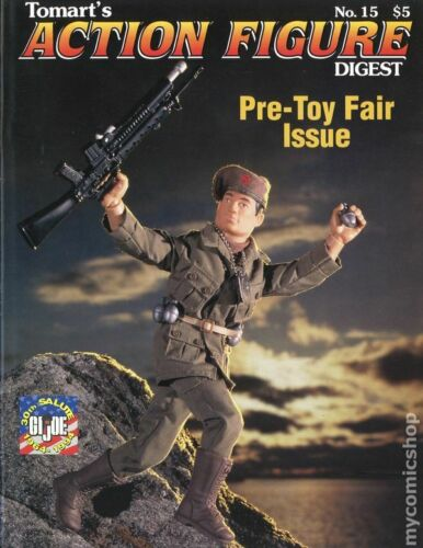 Tomart/'s Action Figure Digest #15 FN 6.0 1994 Stock Image