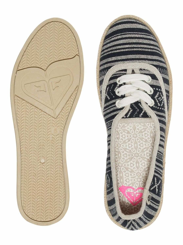 NEW ROXY femmes TANGO LACE UP ESPADRILLES   SUMMER PUMPS SANDALS chaussures 6S 65 BKW