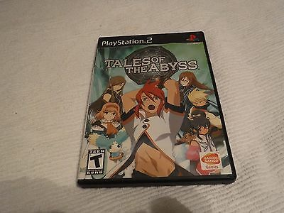 PLAY STATION 2 TALES OF THE ABYSS GAME