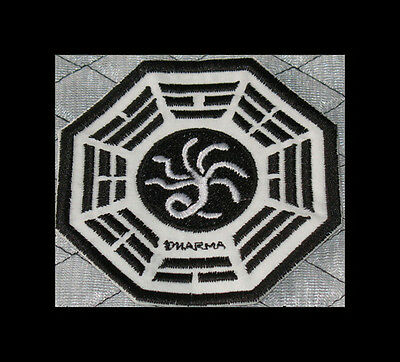 """LOST Dharma Initiative Embroidered patch """"Hydra"""""""