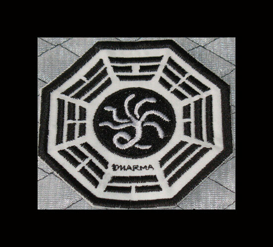 "LOST Dharma Initiative Embroidered patch ""Hydra"""