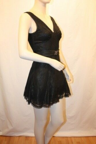 NEW NEW NEW BCBG MAXAZRIA LACE CHARMEUSE EVENING GOWN SIZE 0 0e9867