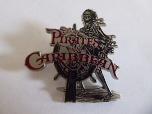 Disney-Trading-Pins-Skeleton-at-the-Helm-Wheel-Pirates-of-the-Caribbean