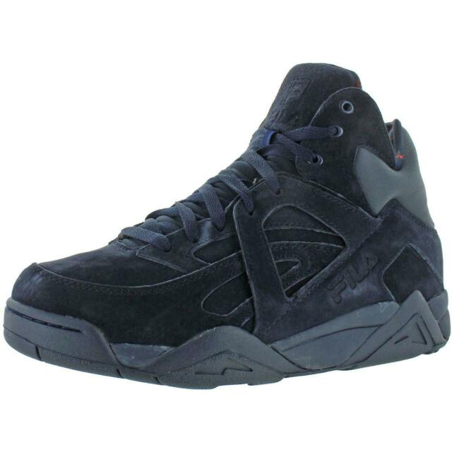 Fila Men's The Cage Suede Retro Athletic Basketball Sneakers Trainers