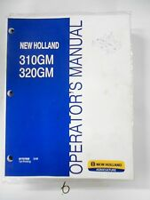 New Holland 310gm 320gm Finish Mower Operator Owners Manual 87757958 308