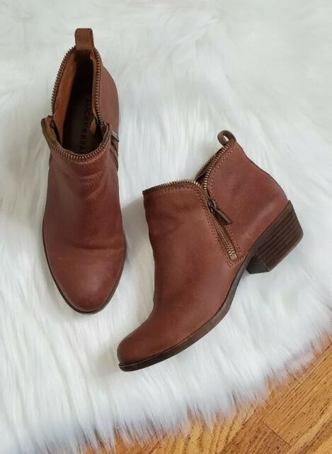 Lucky BRAND Breah Ankle BOOTS Womens