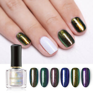 BORN-PRETTY-6ml-Chameleon-Top-Coat-Nail-Polish-Surface-Glossy-Oil-Nail-Art-Care