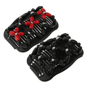 2-pieces-peignes-a-cheveux-a-double-glissiere-clips-perles-de-bois-magiques