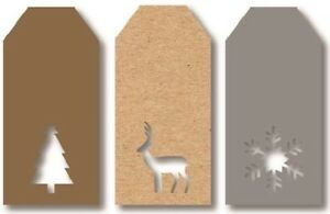 12-LUXURY-GIFT-TAGS-CHRISTMAS-DIECUT-XMAS-GIFT-WRAPPING-PRESENT-VARIOUS-DESIGNS