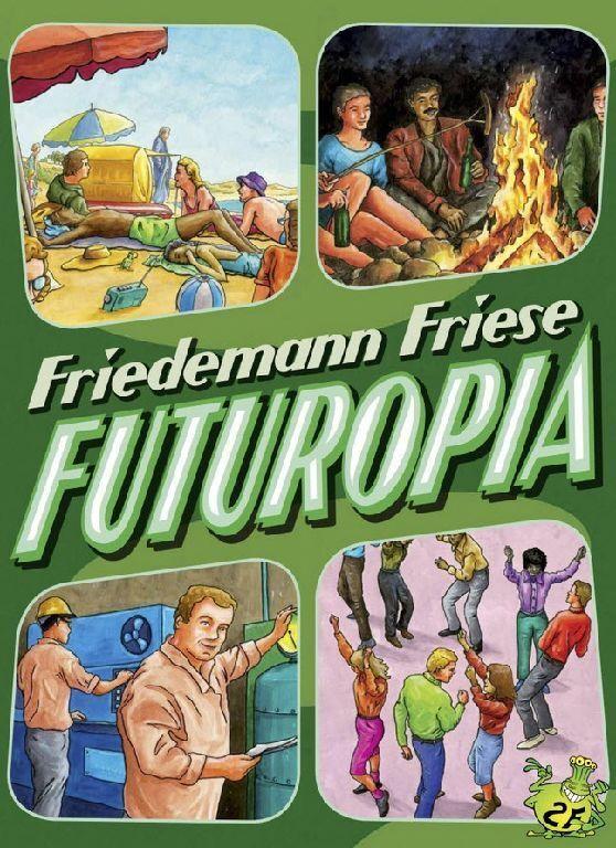 FUTUROPIA - 2F - Spiel - OVP