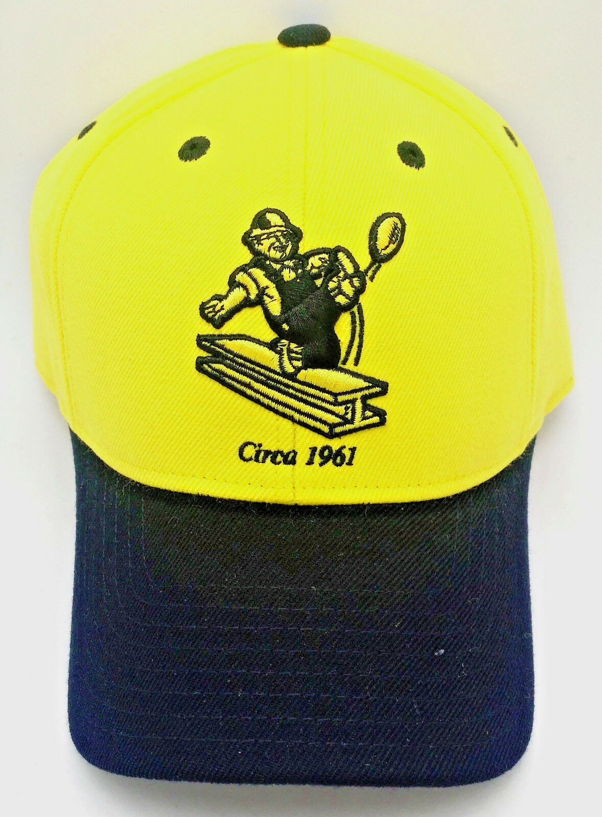 Pittsburgh Steelers Hat/Ballcap  CIRCA 1961  Steelworker REEBOK  2-Tone Hat by REEBOK Steelworker 336964