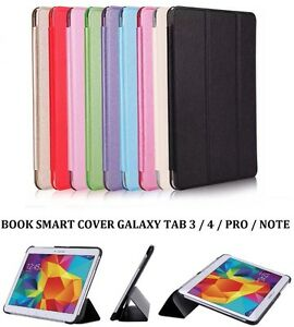 Housse etui coque book smart cover case galaxy tab a s3 s2 for Housse galaxy tab e