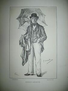 ERNEST-LEGOUVE-AUTEUR-DRAMATIQUE-PORTRAIT-LITHOGRAPHIE-PAR-DEVALLIERES-1887