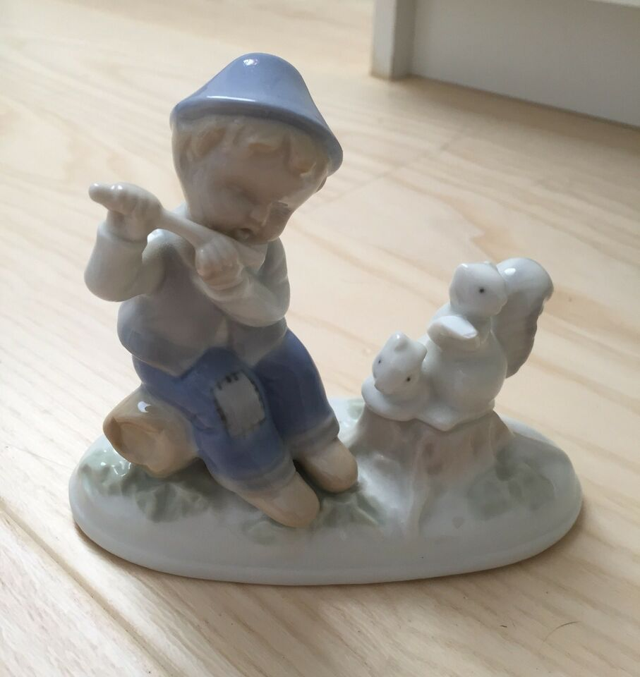 Porcelæn, Gammel porcelæns figur