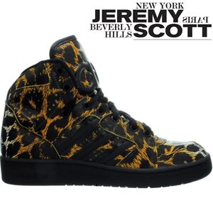 ADIDAS JSJeremy ScottInstinct Hi Leopard d65985 High Sneaker