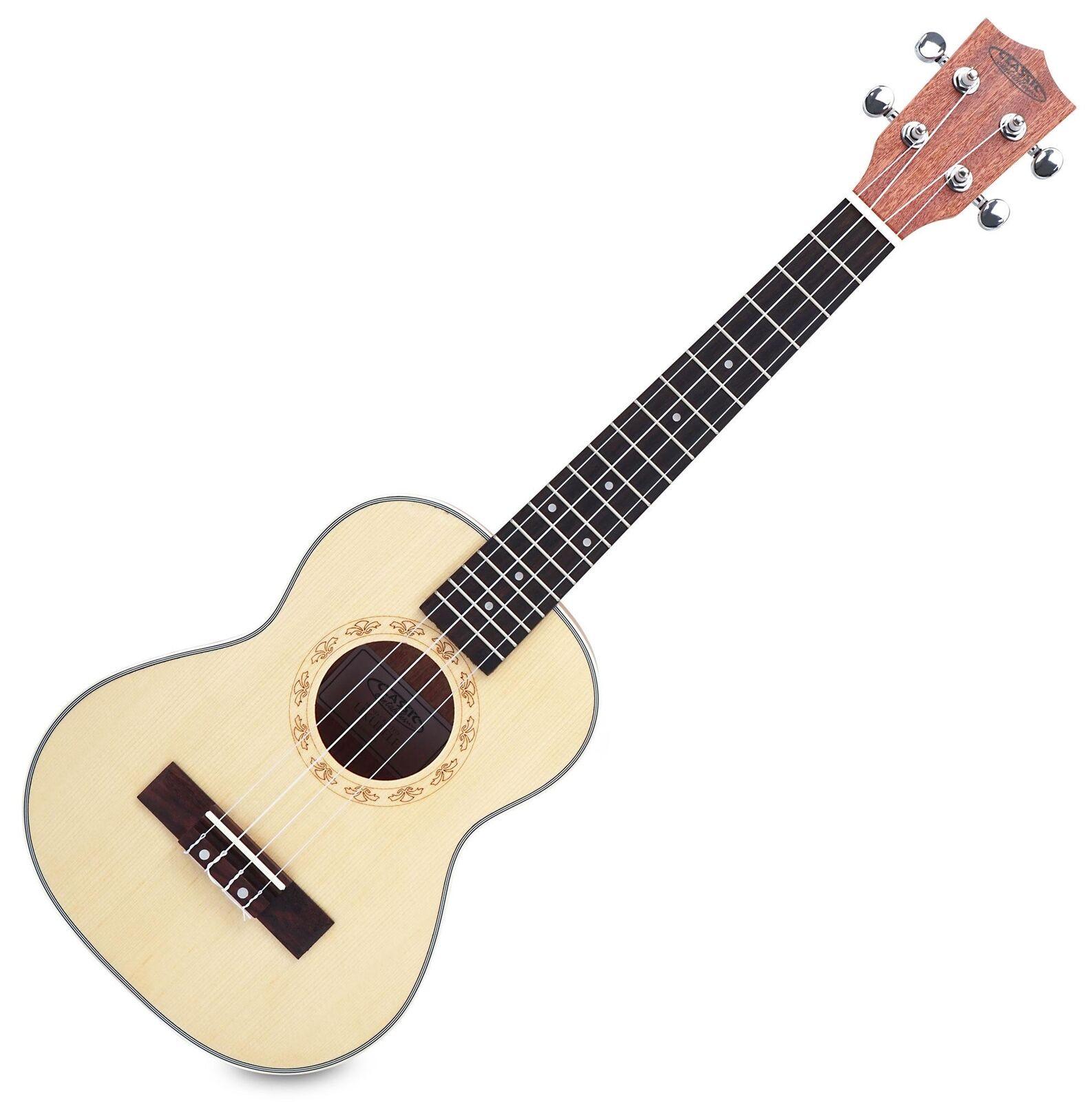 Tenor Ukulele Holz Hawaii Mini Gitarre Kinder Uke Tenor Mensur Natur