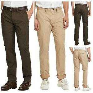 Details About 36 Men's Stretch Chino Ralph Lauren Straight Bedford Polo Pants T13JlKcF