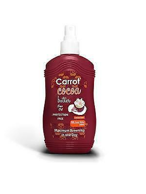 Carrot Sun Australia Cocoa Tanning Oil 200ml