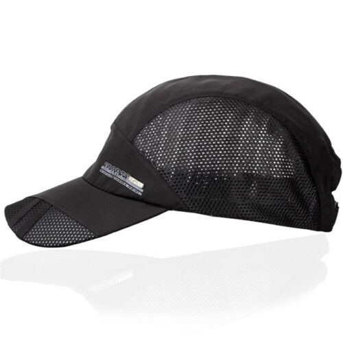 Quick Dry Sports Hat Men Outdoor Baseball Cap Summer Breathable Casual Hats LAZ