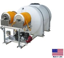 Sprayer Commercial Skid Mounted Dual User 15 Gpm 535 Gallon Tank Ehr