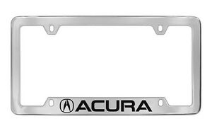 Acura 2013 2016 New Logo Chrome Plated Metal License