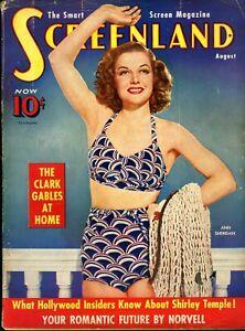 SCREENLAND-AUG-1939-ANN-SHERIDAN-Tarzan-Finds-A-Son-photo-inside