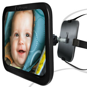 Baby Rear View Mirror Back Car Seat for Infant Child Toddler Wide Safety Adjust
