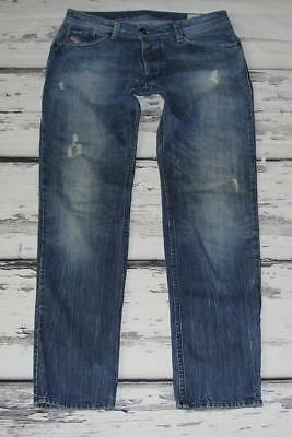 DIESEL~MEN'S~BUTTON-FLY~REGULAR STRAIGHT *DARRON* (WASH 008B9) JEANS~34 x 31.5